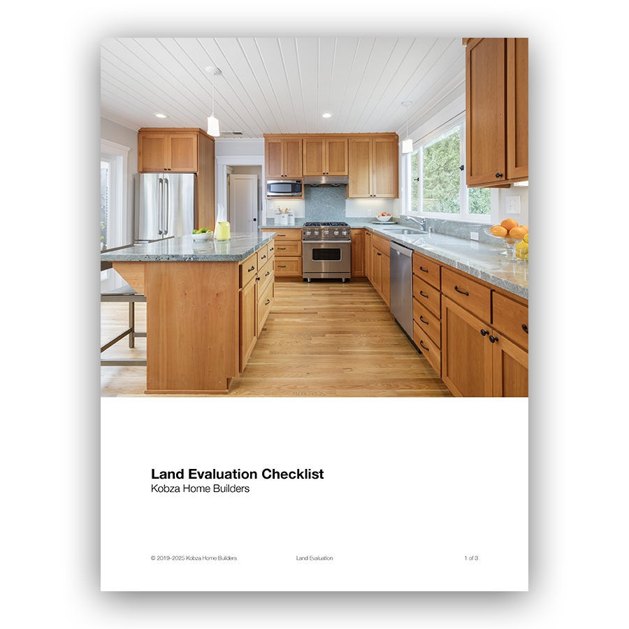 Fill out the form to download the Kobza Land Evaluation Guide